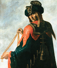 Francisco de Zurbarán, Levi, oil on canvas, Auckland Castle
