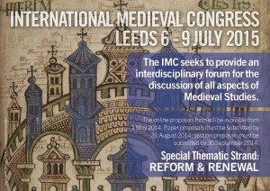 2014-12-InternationalMedievalCongress-Leeds2015