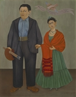 2015-05-Frida Kahlo and Diego Rivera in Detroit, SFMOMA - low res
