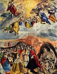 EL GRECO Adoration in the Name of Jesus