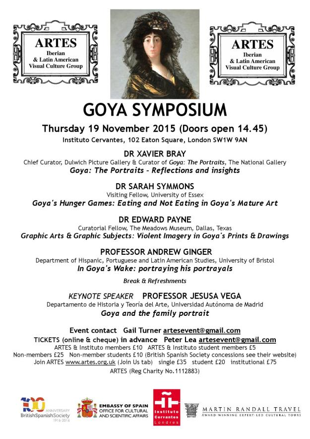 SYMPOSIUM Goya Publicity