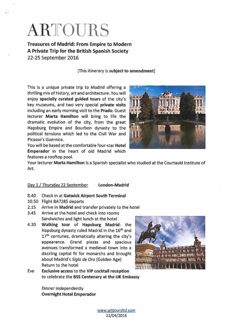 VIP trip to Madrid Sep 2016 Programme_000001