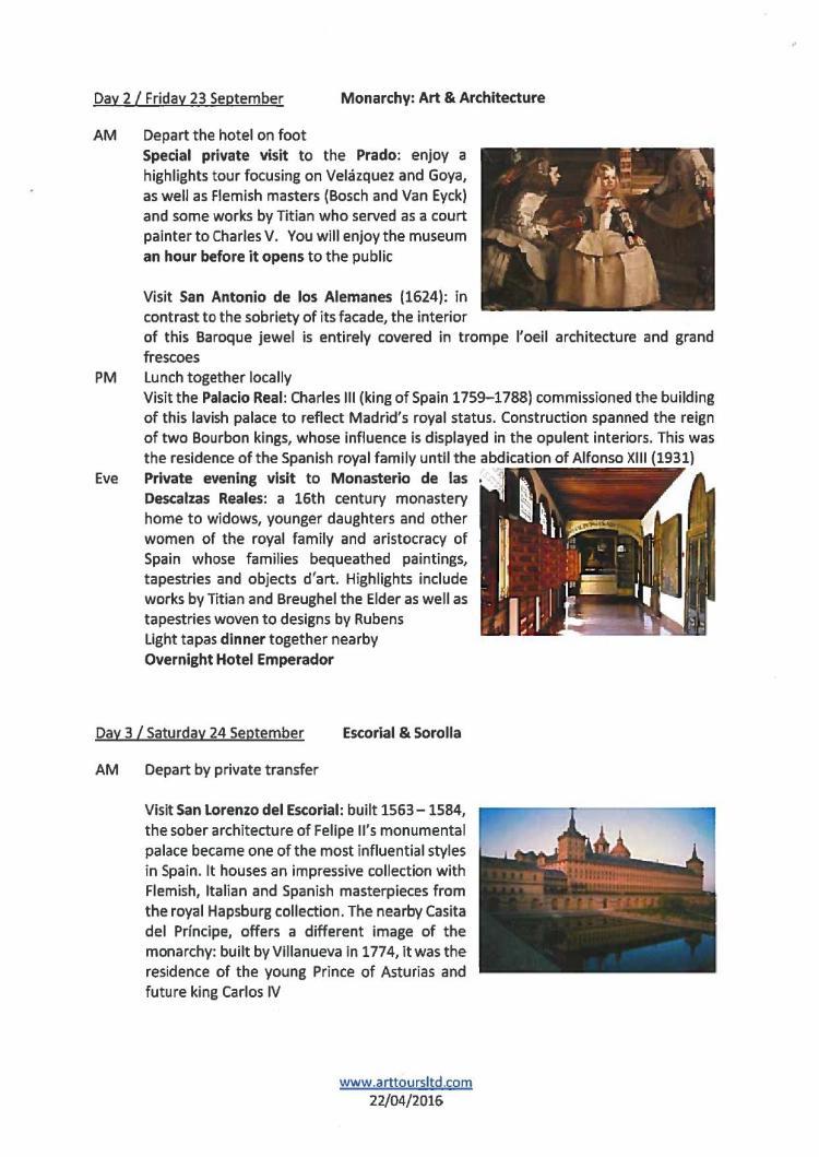 VIP trip to Madrid Sep 2016 Programme_000002