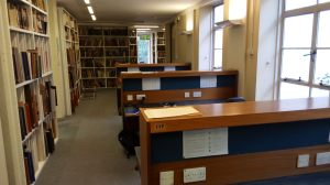 Fig. 3. The Warburg Institute Library. 1st floor