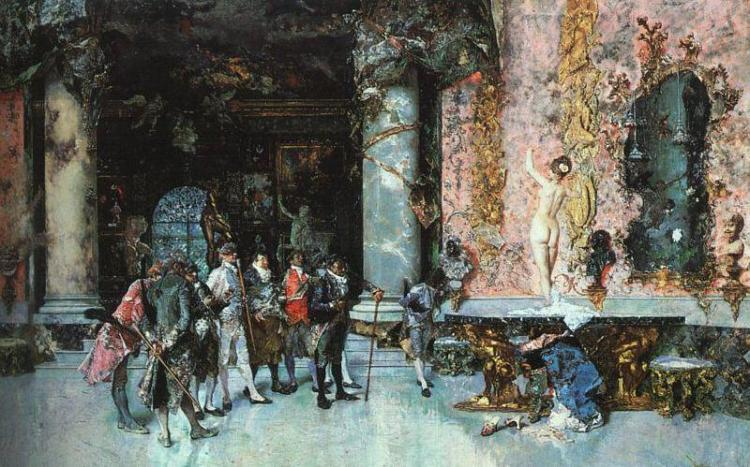 Mariano-Fortuny-The-Choice-of-a-Model